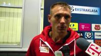 Piłkarze Jagiellonii: Trzy punkty były bardzo ważne, w końcu nie straciliśmy bramki (WIDEO)