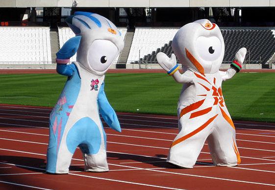 Maskotki Olimpiady 2012 - Wenlock i Mandeville