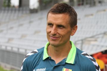 Trenerzy po meczu Korona Kielce - Pogoń Szczecin (KONFERENCJA)