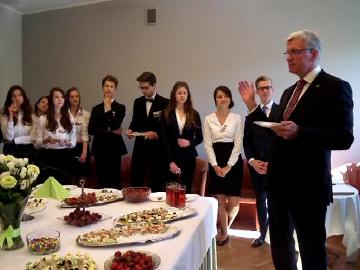 Prezydent Jacek Jaśkowiak w II LO
