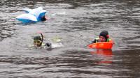Spływ twardzieli w Kaliszu