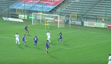Skrót meczu Miedź Legnica - Wigry Suwałki 0:0 [WIDEO]