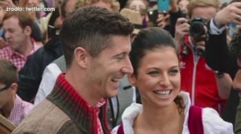 Piłkarze Bayernu zjawili się na Oktoberfest. Lewandowski wraz z żoną uczcili ostatnie sukcesy