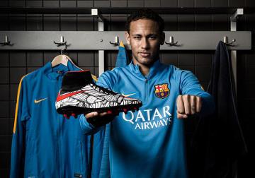 """""""Ousadia Alegria"""" - nowe buty Neymara wyrazem piłkarskiej odwagi i radości [ZDJĘCIA, WIDEO]"""