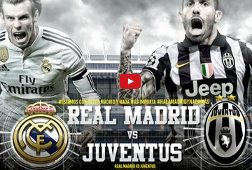 Real - Juve: Casillas vs Buffon, Ronaldo vs Chiellini, Varane vs Tevez (ZAPOWIEDZI YOUTUBE)