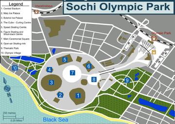 Soczi 2014 mapa