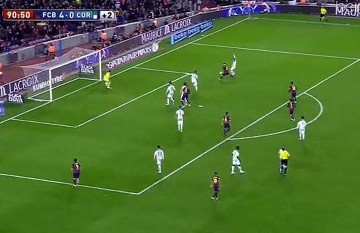 Messi jak baletnica. Kapitalne trafienie Argentyńczyka! (WIDEO)