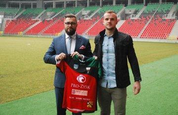 Artur Pląskowski nowym piłkarzem GKS-u Tychy