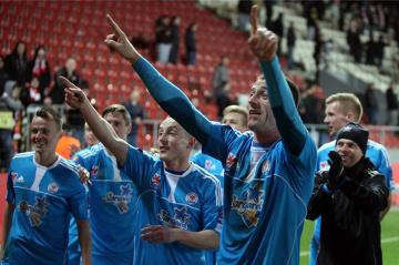 Puchar Polski: Błękitni Stargard Szczeciński - Termalica Bruk-Bet Nieciecza 2:1
