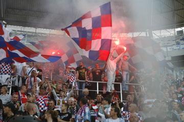 Kibice na meczu Górnik Zabrze - Legia Warszawa [GALERIA]