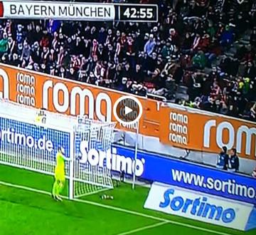 Neuer nastraszył chłopaka do podawania piłek (WIDEO)