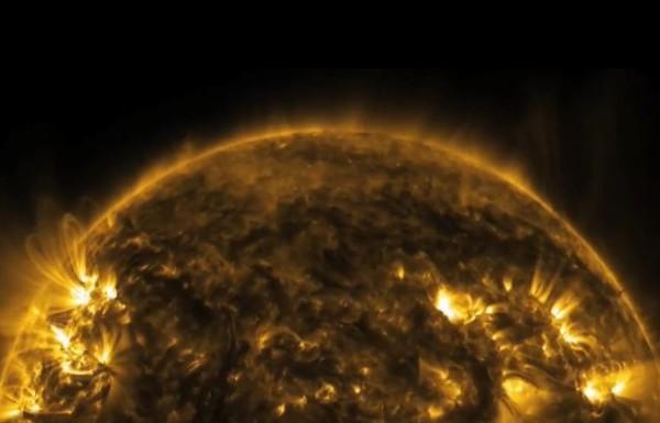 Słońce z bliska w oszałamiającej rozdzielczości. Wideo NASA
