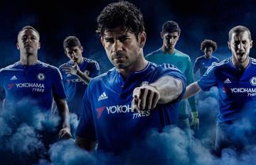 """Mistrzowie Anglii prezentują niebieskie """"zbroje"""" - efektowna sesja Chelsea! (ZDJĘCIA, WIDEO)"""