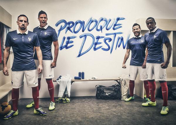 Nowe koszulki Francji na MŚ 2014