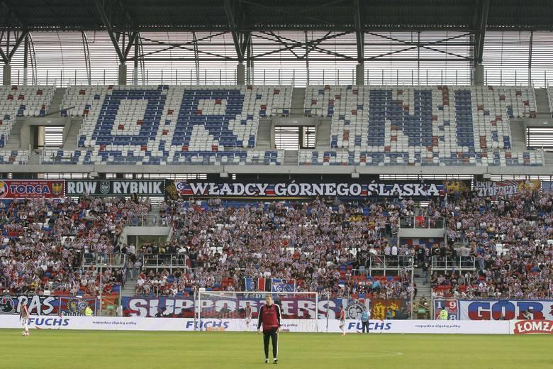 Stadion w Zabrzu: trybuny gotowe na Wielkie Derby Śląska. A reszta? [GALERIA]