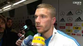 Podolski po meczu z Niemcami: To nie było nasze najlepsze spotkanie (WIDEO)