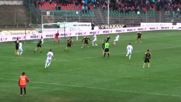 Skrót meczu Zagłębie Sosnowiec - GKS Katowice 2:1 [WIDEO]