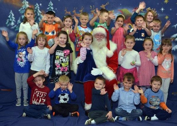 Mikołaj u przedszkolaków