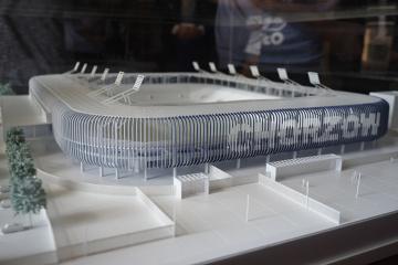 Makieta nowego stadionu Ruchu Chorzów już jest. Kiedy budowa? (ZDJĘCIA)