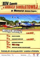 W sobotę w Świdniku zawody w akrobacji samolotowej o Memoriał Janusza Kasperka