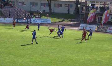Bramki z meczu Chojniczanka Chojnice - Miedź Legnica 3:0 (WIDEO)