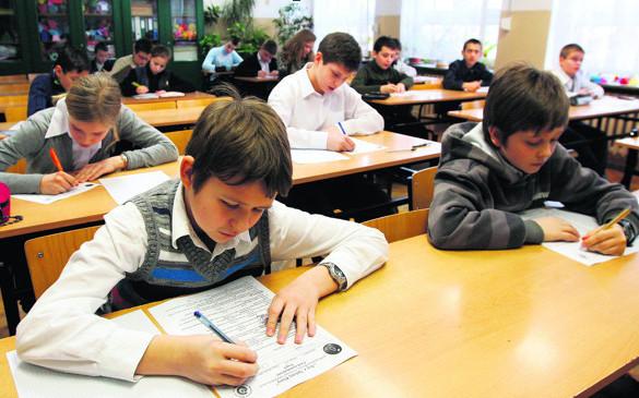 5 kwietnia, szóstoklasiści rozwiązywali test sprawdzający wiedzę