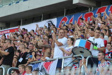 Kibice na meczu Górnik Zabrze - Cracovia (GALERIA)