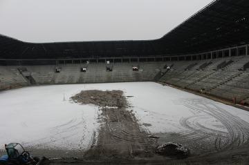 Trwa budowa Stadionu Miejskiego w Tychach (GALERIA)