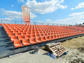 Modernizacja stadionu Termaliki Bruk-Bet Nieciecza (GALERIA - cz. 3)