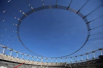 Coraz bliżej ukończenia Stadionu Śląskiego. Operacja Big Lift zakończona sukcesem