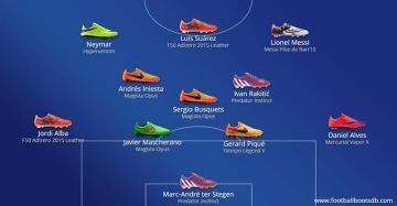 Pojedynek na korki. W jakich butach zagrali piłkarze Bayernu i Barcelony? (ZDJĘCIA)