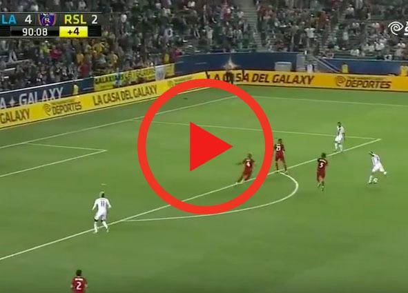 Zagranie weekendu | Efektowny gol Gerrarda dla LA Galaxy [WIDEO]