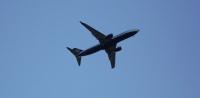 Samolot Ryanaira nad Lubinem (FOTO)
