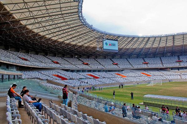Belo Horizonte. Stadion: Estadio Mineirao. Pojemność: 64000. Ilość spotkań podczas MŚ 2014: 6.