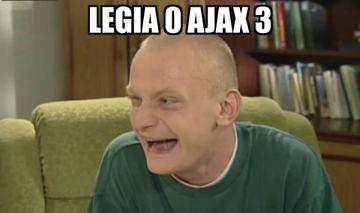 Memy po meczu Legia - Ajax: hat-trick Milika i Legia znika (GALERIA)