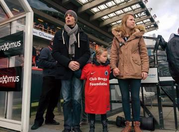 Kibic Club Brugge przełożył eutanazję, aby ostatni raz obejrzeć mecz swojej drużyny