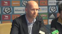 Berg tuż przed zwolnieniem z Legii: Piłkarze muszą zaakceptować presję, która na nich ciąży