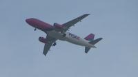 Samolot WizzAir nad os. Czuby