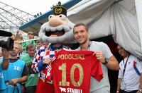 Lukas Podolski o Górniku: Masz ferrari, a dajesz mu paliwo do diesla. Po Galatasaray może zagram w Zabrzu