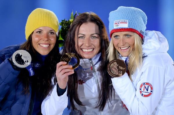 Justyna Kowalczyk ze złotem olimpijskim