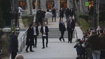 Neymar zeznawał w sądzie w Madrycie. Przed budynkiem czekał na niego tłum kibiców i dziennikarzy
