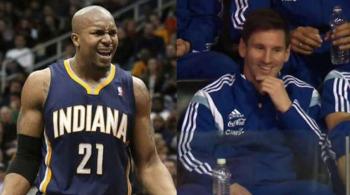 """""""Messi? Kto to taki i czym się zajmuje?"""" Koszykarz NBA zaskoczył dziennikarkę niewiedzą (WIDEO)"""