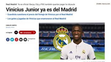 """Real Madryt potwierdził podpisanie kontraktu z """"nowym Neymarem"""""""