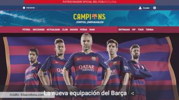 Nowe szaty króla. Barcelona zaprezentowała stroje na najbliższy sezon (WIDEO)