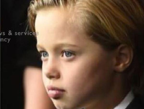 Córka Angeliny Jolie i Brada Pitta wygląda jak chłopiec