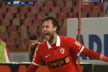 Dwa gole Kamila Bilińskiego w meczu z Universitateą Cluj (WIDEO)