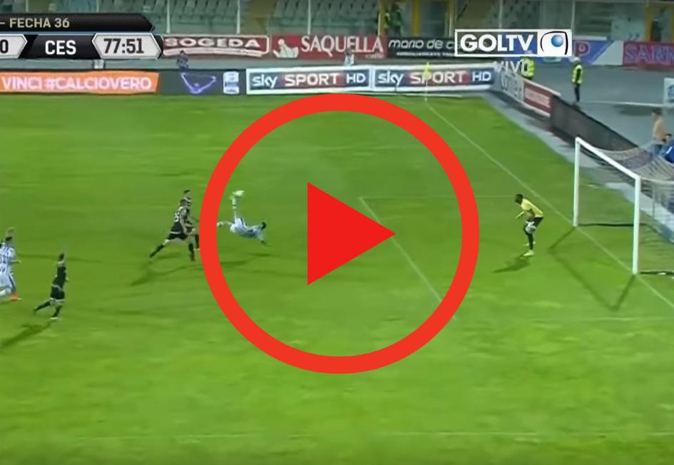 Zagranie weekendu | Nazywa się Gianluca Lapadula - oto jak strzela z przewrotki [WIDEO]