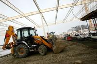 Budowa lotniska w Świdniku (styczeń 2012)
