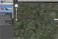 Airbus 388 nad Lublinem i Świdnikiem