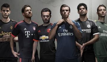 Trzecie komplety strojów europejskich potęg - Bayern, Chelsea, Real, MU, Juve i Milan! (ZDJĘCIA)